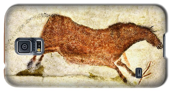 Lascaux Red Horse Galaxy S5 Case