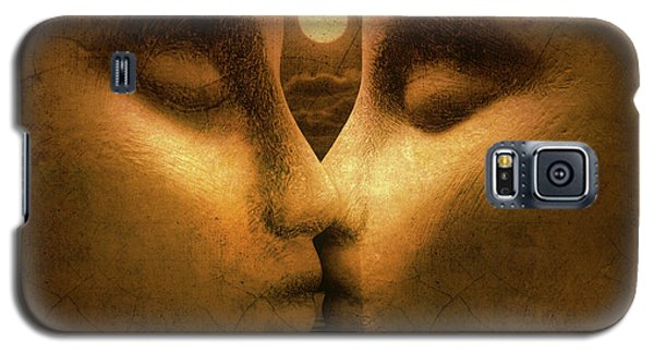 Galaxy S5 Case featuring the photograph Moon Kiss by Jeff  Gettis