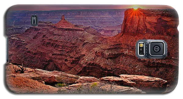 Last Light At Dead Horse Point Galaxy S5 Case