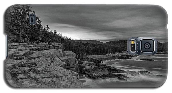 Last Light At Otter Cliff Galaxy S5 Case