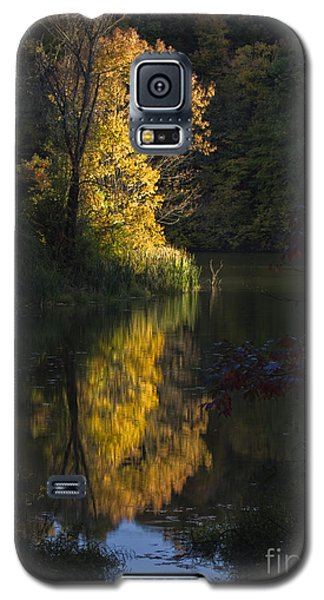 Galaxy S5 Case featuring the photograph Last Light - D009910 by Daniel Dempster