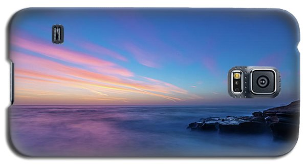 Last Light In April, Sunset Clifs Galaxy S5 Case