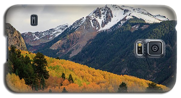 Galaxy S5 Case featuring the photograph Last Light Of Autumn by David Chandler