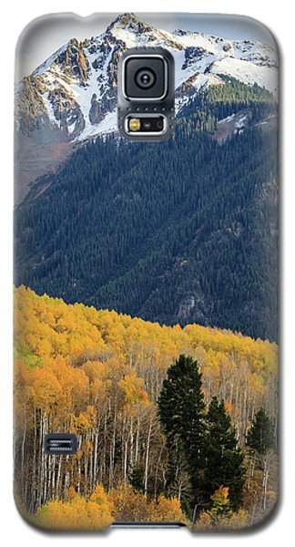 Galaxy S5 Case featuring the photograph Last Light Of Autumn Vertical by David Chandler