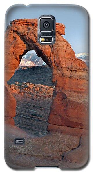 Last Light On Delicate Arch  Galaxy S5 Case by Jeff Brunton