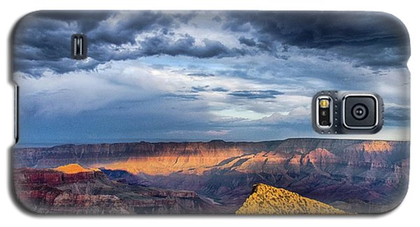 Last Light On Freyas Castle Galaxy S5 Case
