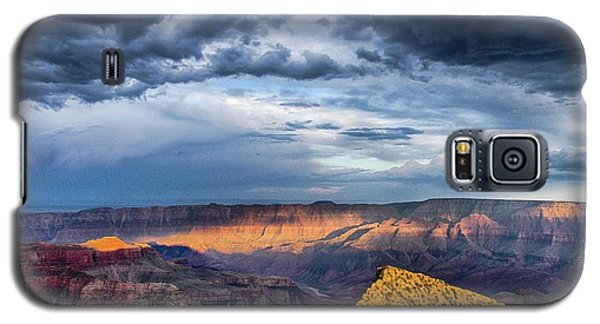 Last Light On Freyas Castle Galaxy S5 Case