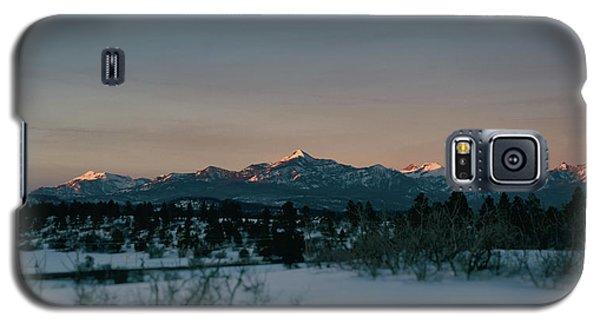 Last Light On Pagosa Peak Galaxy S5 Case