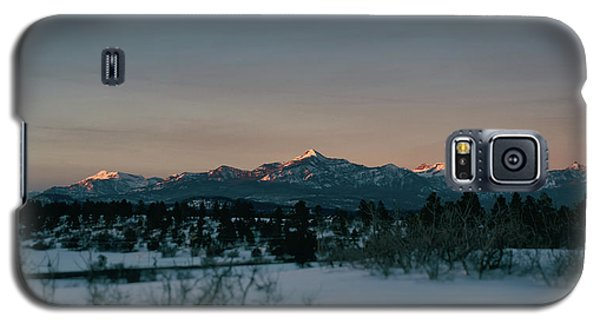 Last Light On Pagosa Peak Galaxy S5 Case