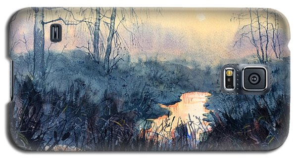 Last Light On Skipwith Marshes Galaxy S5 Case