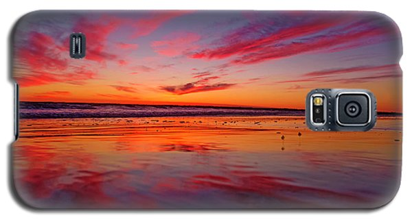 Last Light Topsail Beach Galaxy S5 Case by Betsy Knapp