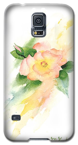 Last Rose Of Summer Galaxy S5 Case