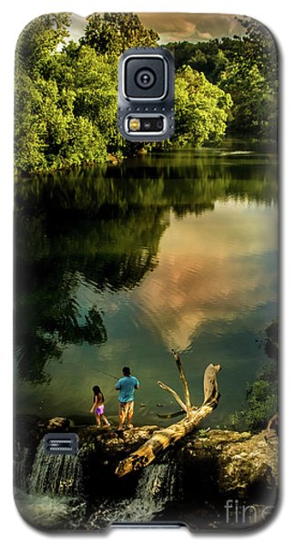 Last Seconds Of Summer Galaxy S5 Case by Robert Frederick