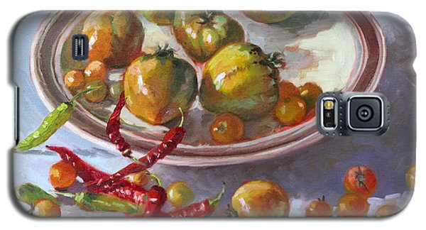 Tomato Galaxy S5 Case - Last Tomatoes From My Garden by Ylli Haruni