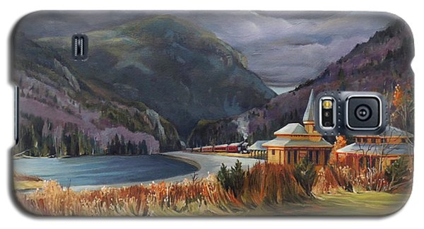 Last Train To Crawford Notch Depot Galaxy S5 Case