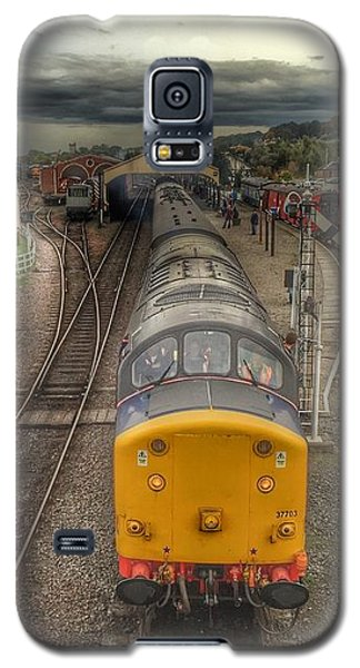 Galaxy S5 Case featuring the photograph Last Train To Manuel by RKAB Works