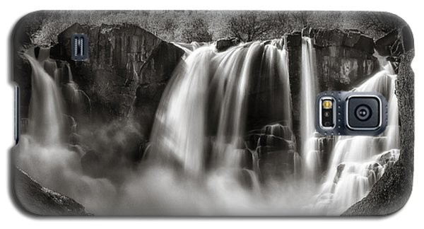 Galaxy S5 Case featuring the photograph Late Afternoon At The High Falls by Rikk Flohr