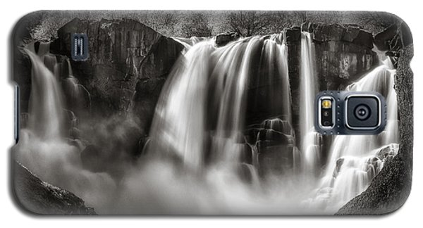 Late Afternoon At The High Falls Galaxy S5 Case by Rikk Flohr