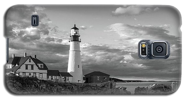 Late Afternoon Clouds, Portland Head Light  -98461 Galaxy S5 Case