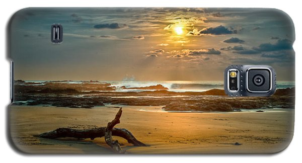 Galaxy S5 Case featuring the photograph Late Afternoon Costa Rican Beach Scene by Rikk Flohr