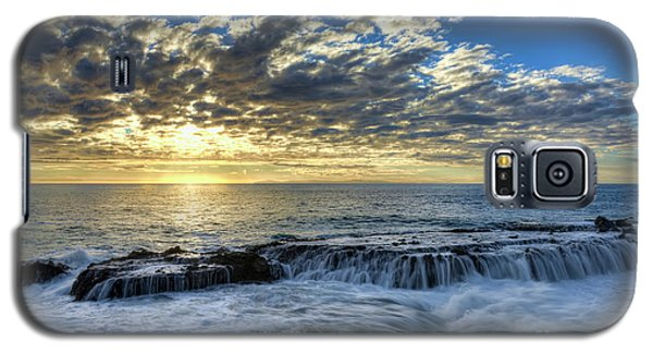 Galaxy S5 Case featuring the photograph Late Afternoon In Laguna Beach by Eddie Yerkish