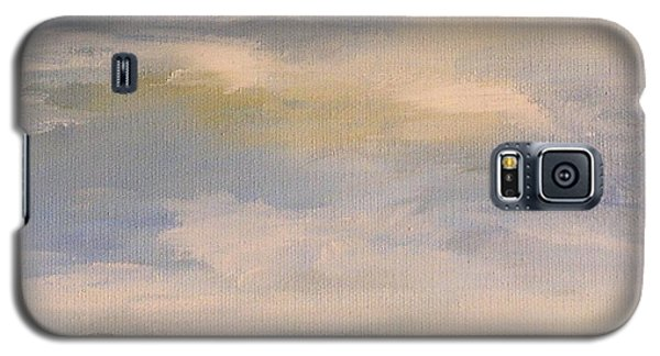 Galaxy S5 Case featuring the painting  Late Afternoon In Vermont  by Laurie Rohner