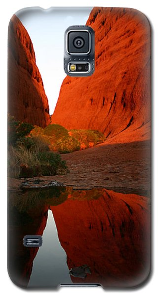 Late Afternoon Light And Reflections At Kata Tjuta In The Northern Territory Galaxy S5 Case