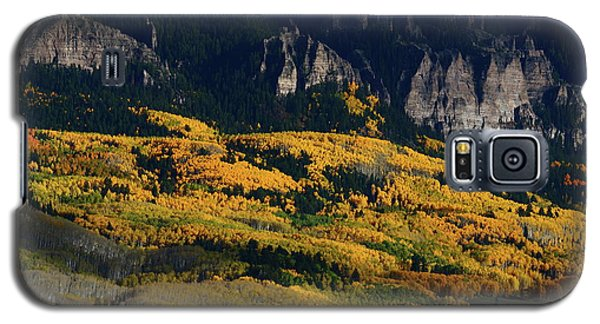 Galaxy S5 Case featuring the photograph Late Afternoon Light On Aspen Groves At Silver Jack Colorado by Jetson Nguyen