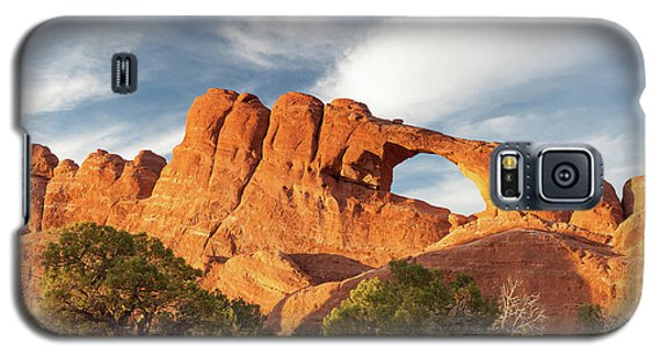 Late Afternoon Light On Skyline Arch Galaxy S5 Case