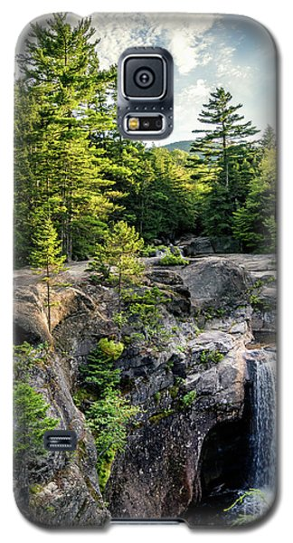 Galaxy S5 Case featuring the photograph Late Afternoon, Screw Auger Falls, Newry, Maine #10100-10102 by John Bald