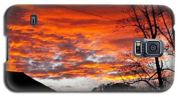 Late Autumn Sunset Galaxy S5 Case
