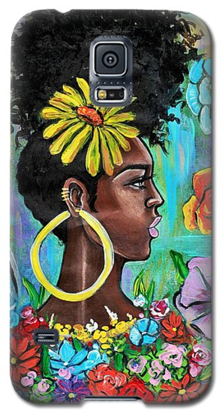 Galaxy S5 Case - Late Bloomer by Artist RiA