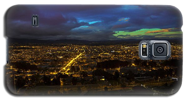 Late Dusk View Of Cuenca From Turi Galaxy S5 Case by Al Bourassa