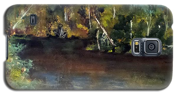 late in the Day on Blue Creek Galaxy S5 Case