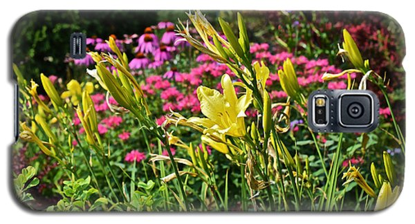 Late July Garden 1 Galaxy S5 Case