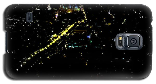Galaxy S5 Case featuring the photograph Late Night In Cuenca, Ecuador by Al Bourassa