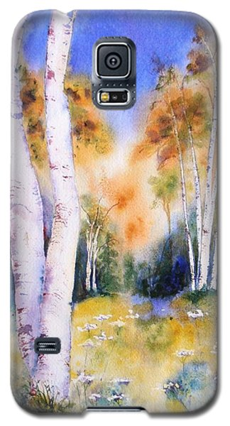 Late Summer Birches Galaxy S5 Case