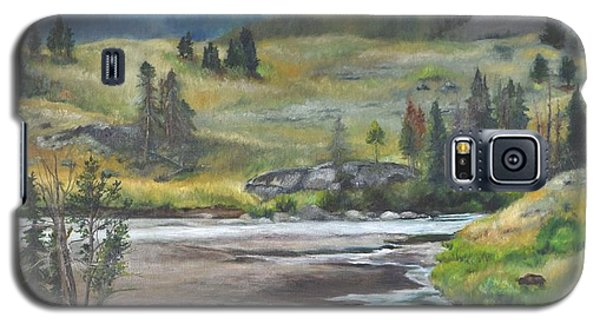 Late Summer In Yellowstone Galaxy S5 Case