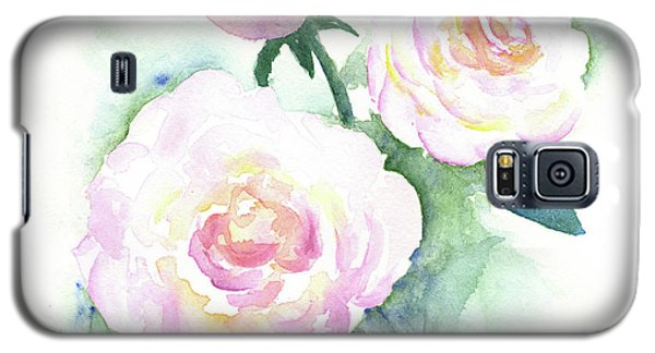 Late Summer Roses Galaxy S5 Case