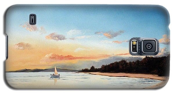 Late Sunset Along The Beach Galaxy S5 Case