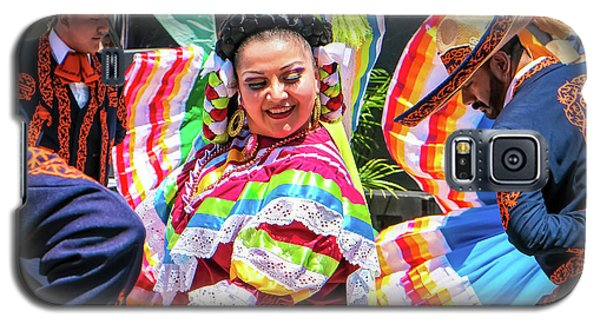 Latino Street Festival Dancers Galaxy S5 Case