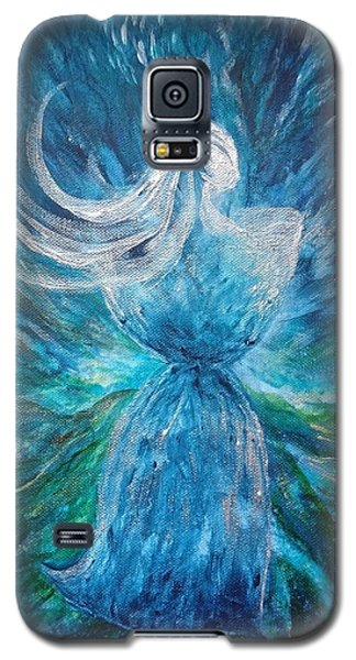 Latte Stone Woman Galaxy S5 Case