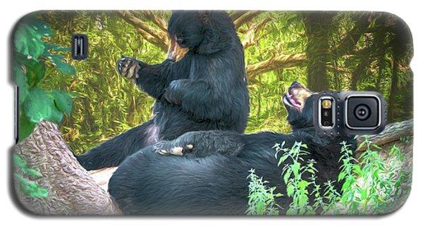 Laughing Bears Galaxy S5 Case by John Haldane