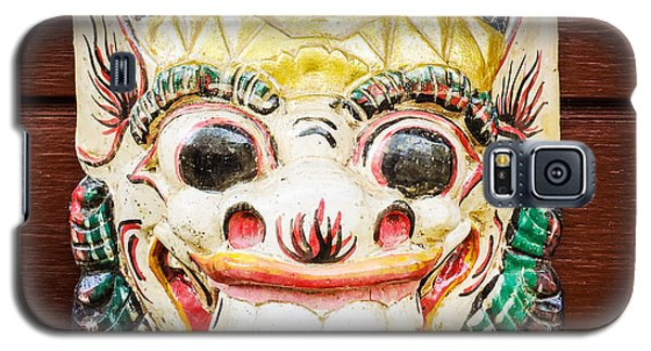 Cool Galaxy S5 Case - Laughing Mask by Matthias Hauser