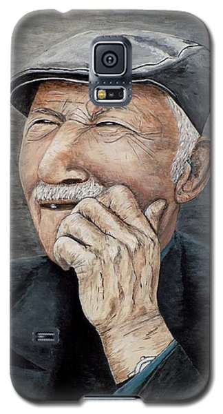 Laughing Old Man Galaxy S5 Case