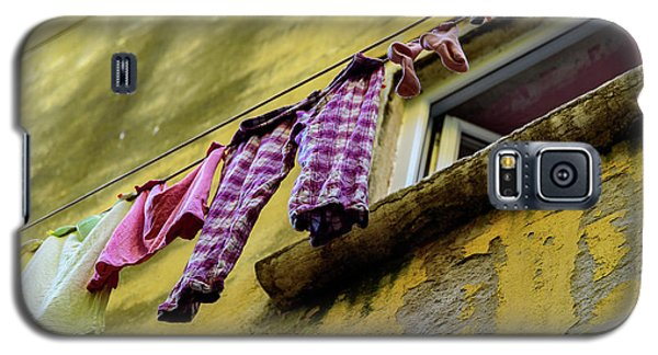 Laundry Hanging In Rovinj, Croatia Galaxy S5 Case