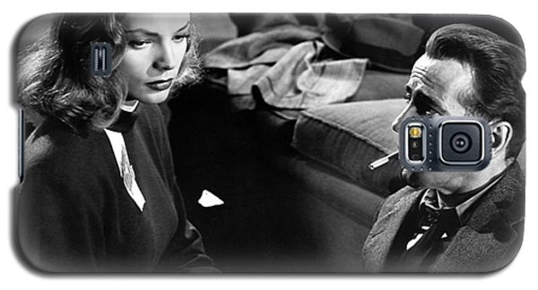 Lauren Bacall Humphrey Bogart Film Noir Classic The Big Sleep 1 1945-2015 Galaxy S5 Case