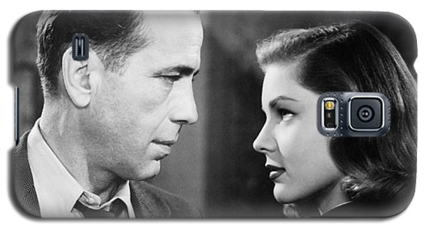 Lauren Bacall Humphrey Bogart Film Noir Classic The Big Sleep 2 1945-2015 Galaxy S5 Case