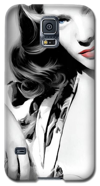 Lauren Bacall Large Size Portrait 2 Galaxy S5 Case