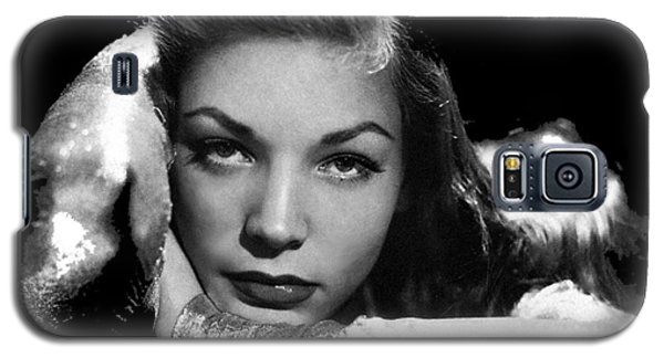Lauren Bacall Publicity Photo Circa 1945-2015 Galaxy S5 Case